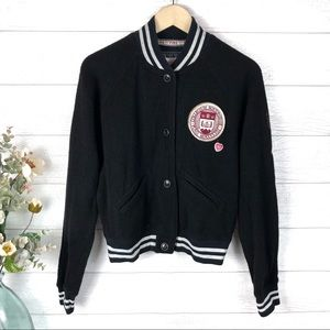 PINK VICTORIA'S SECRET College Track Jacket